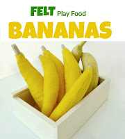 felt play food - free pattern