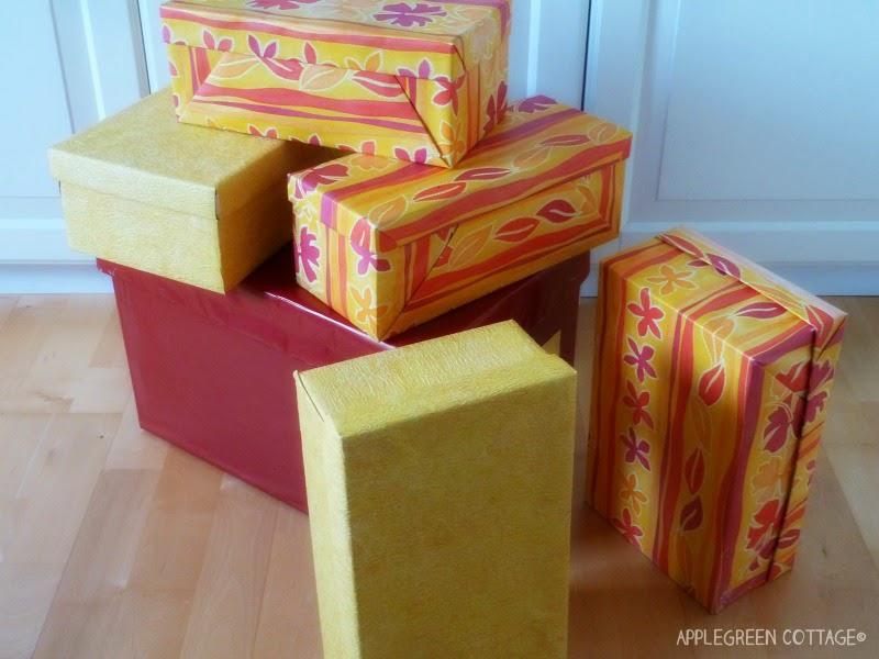 Diy Cardboard Storage Boxes