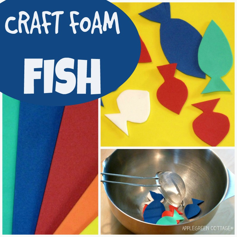 craft foam fish - kids