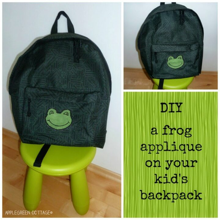 How-To Add a Frog Applique