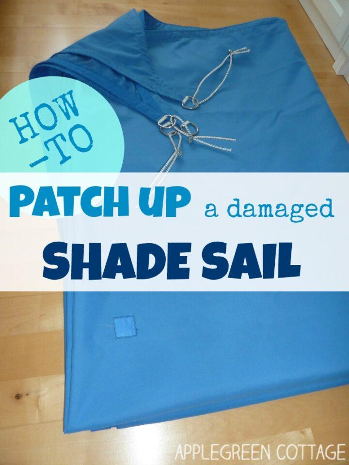 How to Repair Shade Sail