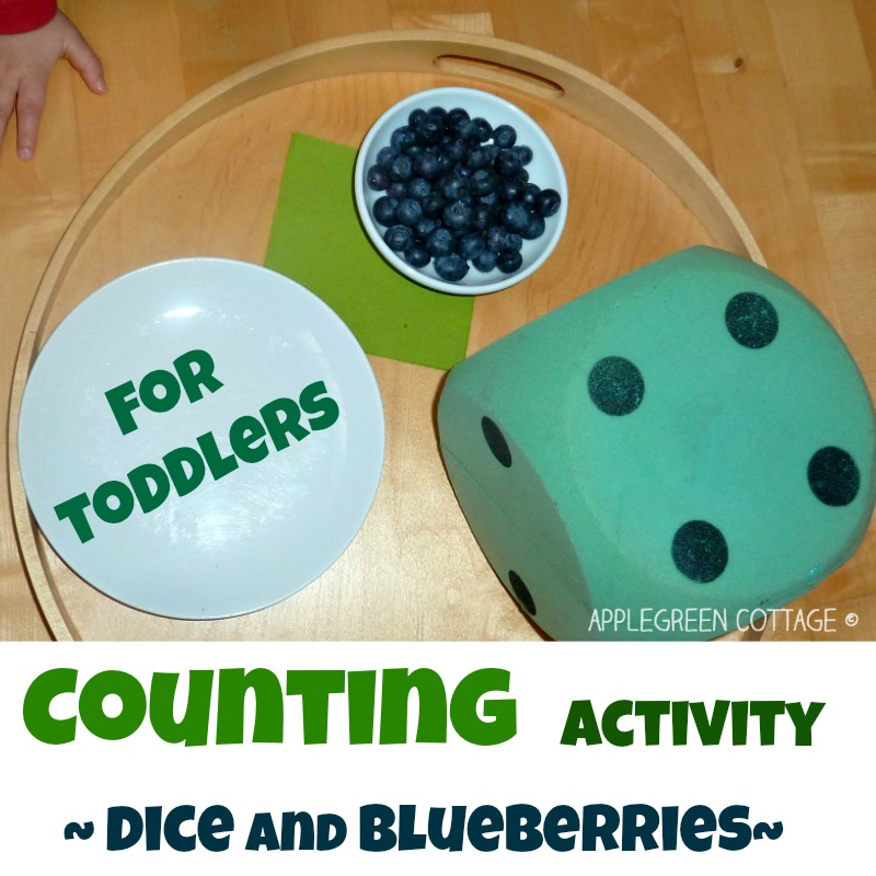 counting activity for toddlers and kids