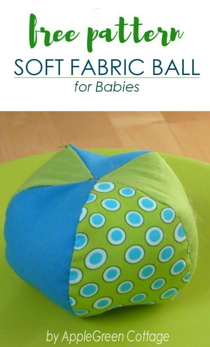 Soft Ball Pattern - Free Sewing Pattern