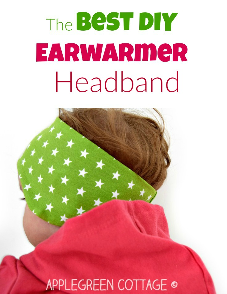 The best earwarmer headband tutorial and 8-size PDF sewing pattern. The smallest 3 sizes (baby to 1 year) are free to download for email subscribers. This perfect headband pdf pattern will add a pop of color to your kids' fall wardrobe AND let them stay WARM outdoors this fall.