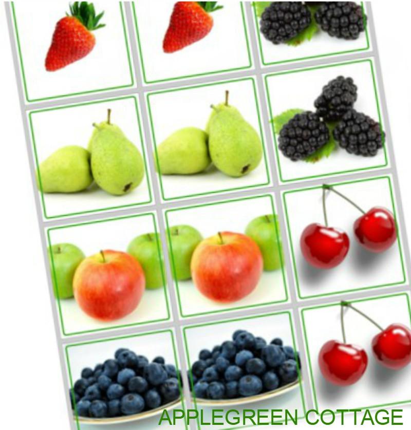 fruit printables