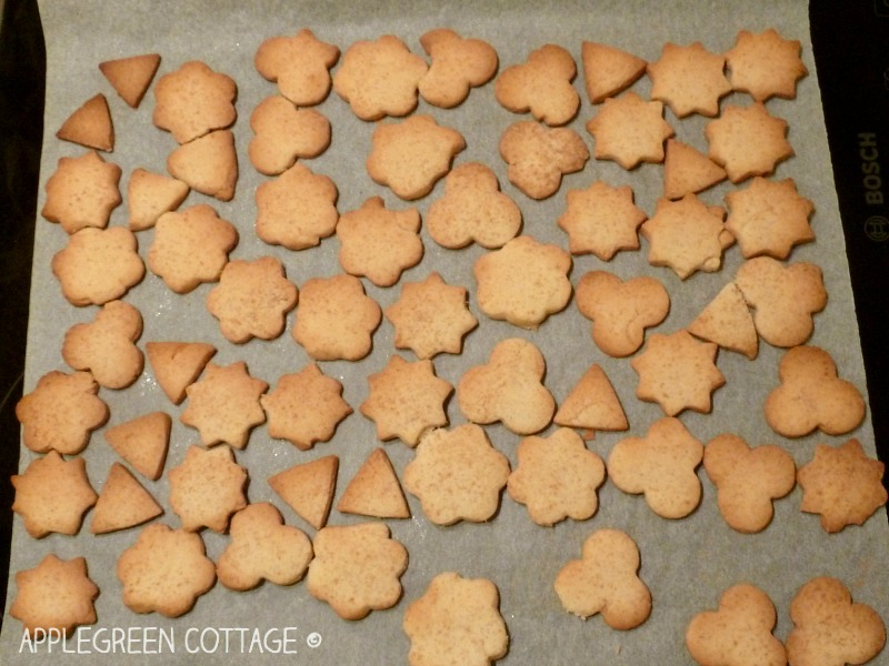 freshly baked cookies - kids in the kitchen