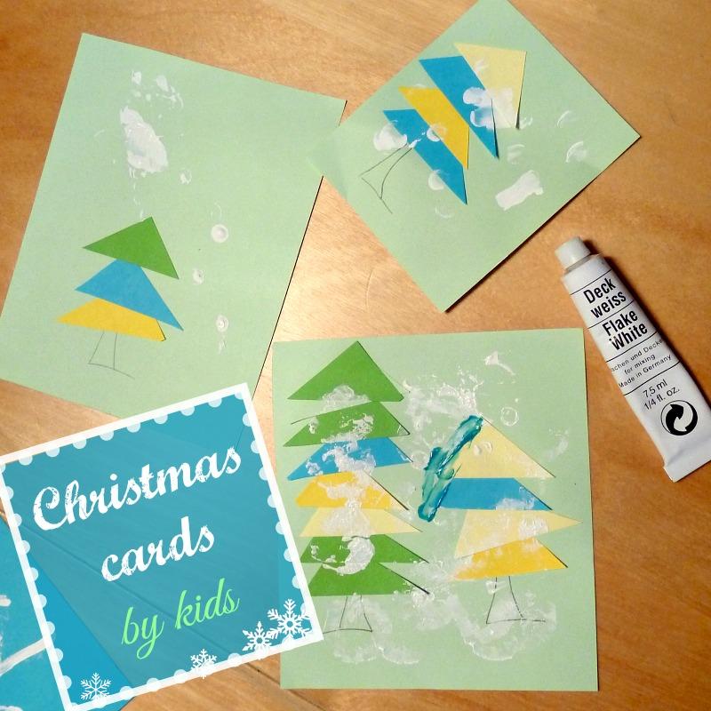 Christmas cards for kids to make