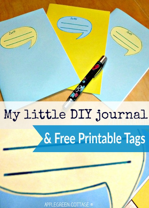 diy printable notebook labels template