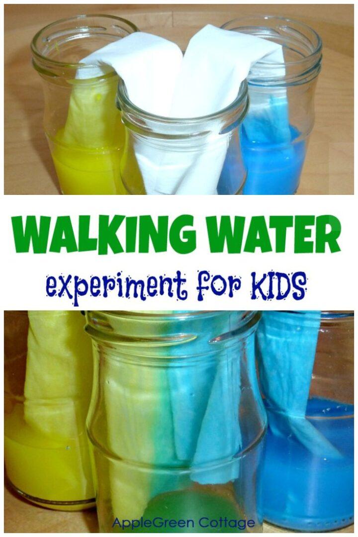 walking water experiment