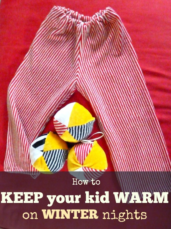 how to keep toddlers warm at night