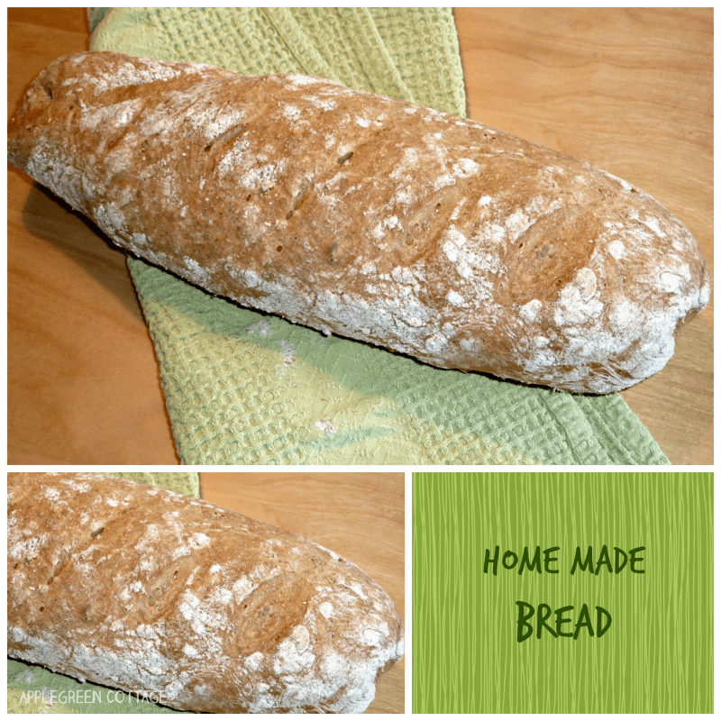see how to make homemade bread