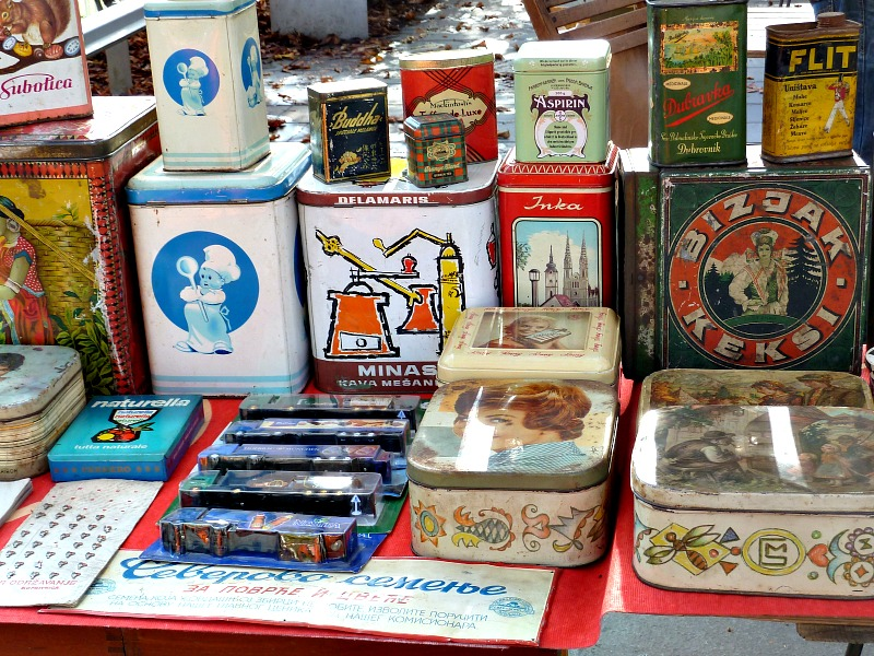 local flea markets - Ljubljana