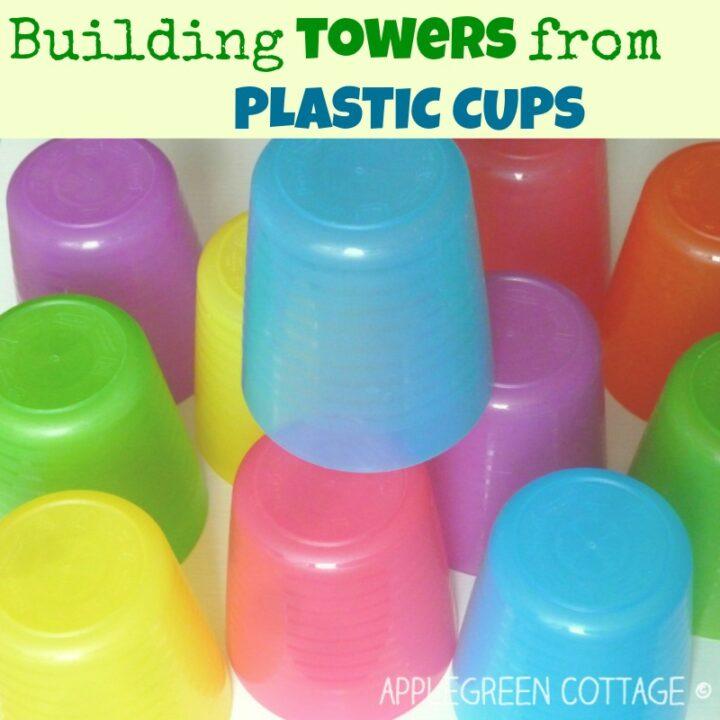 Kids Activities - Plastic Cup Tower