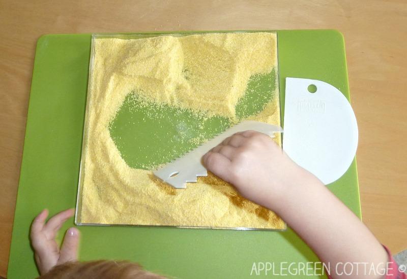 sensory play for kids
