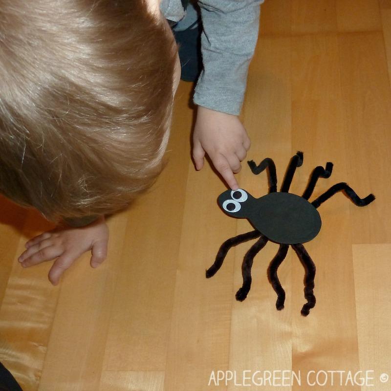 diy craft foam spider