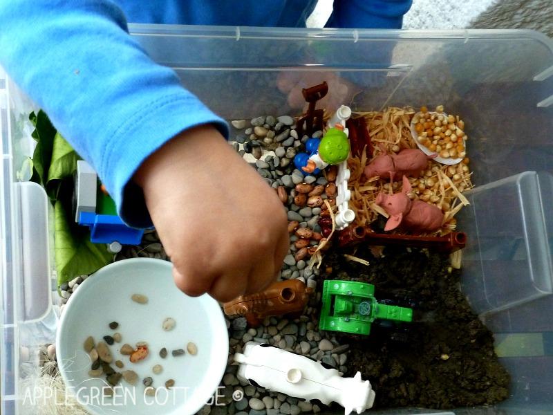 imaginative play for kids - farm