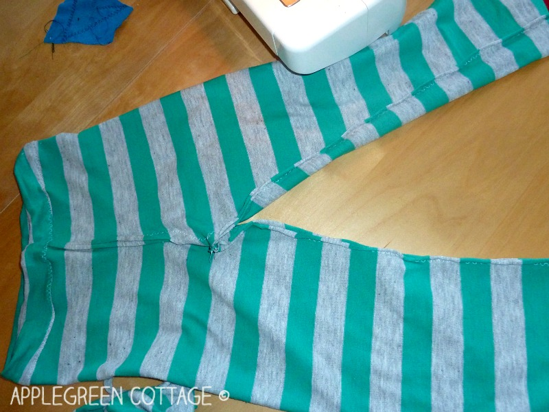 how to make summer pajama pants for kids