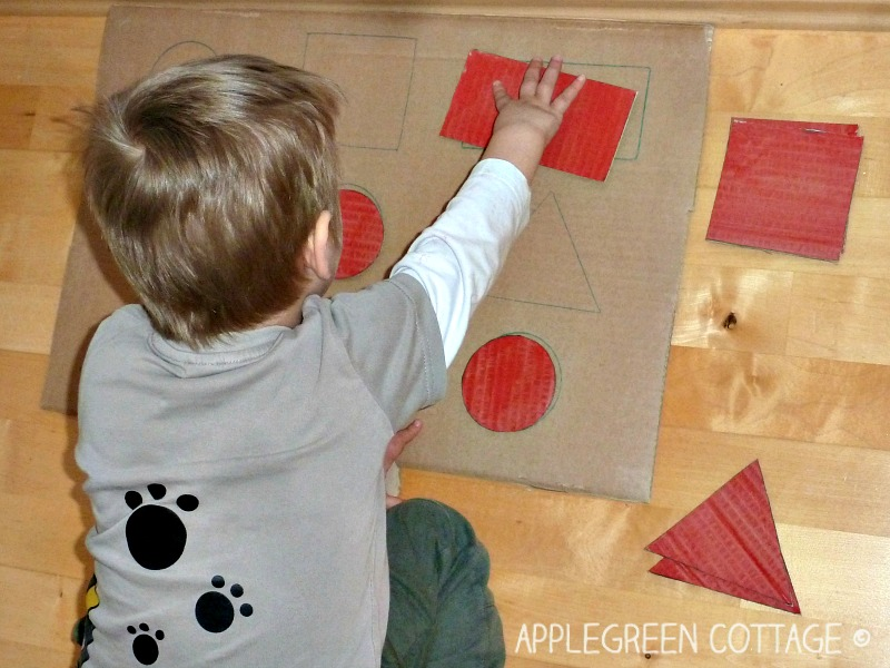 Shape Matching Game for Toddlers