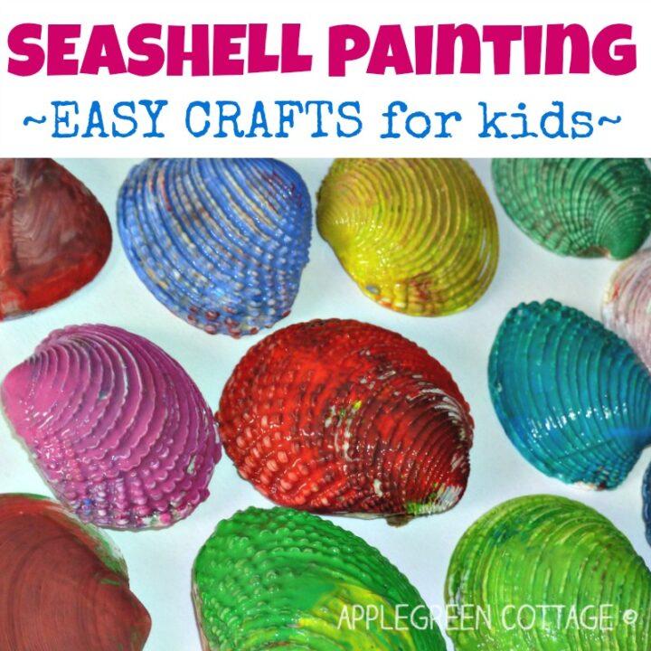 Seashell Painting - Fun Activity!