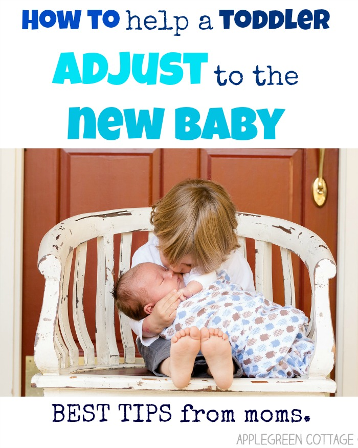 helping toddler adjust to new baby