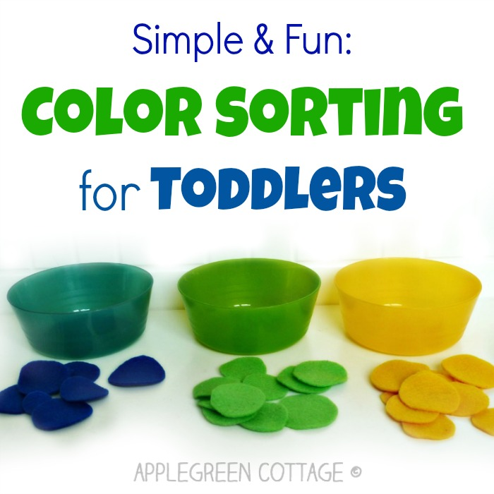 Color Sorting Activities For Kids – Fun With Felt!