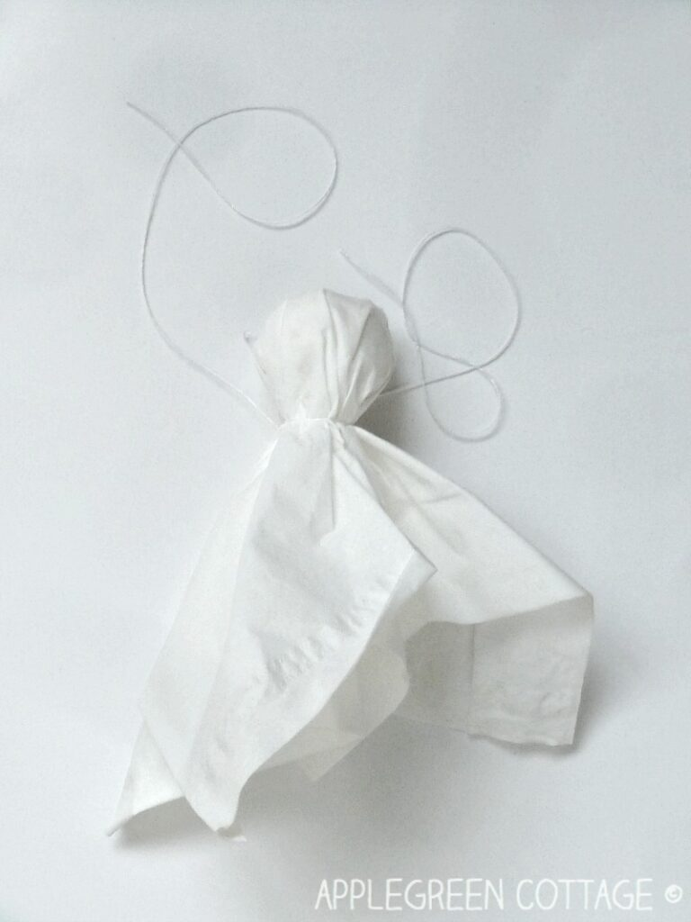tissue paper ghost