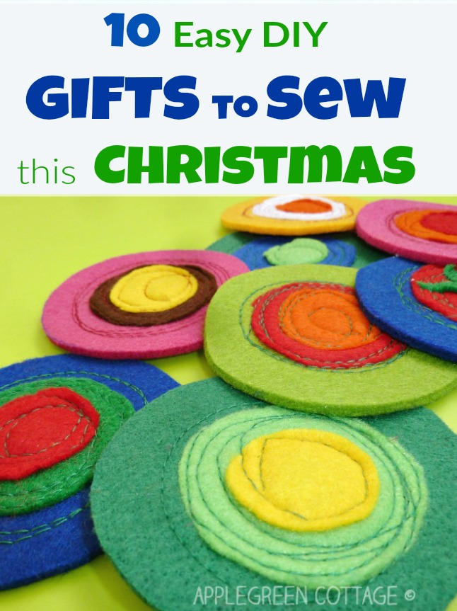 easy to sew christmas gifts