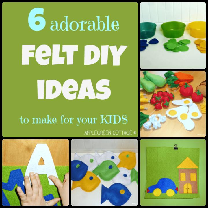 6 Adorable Felt DIY Ideas