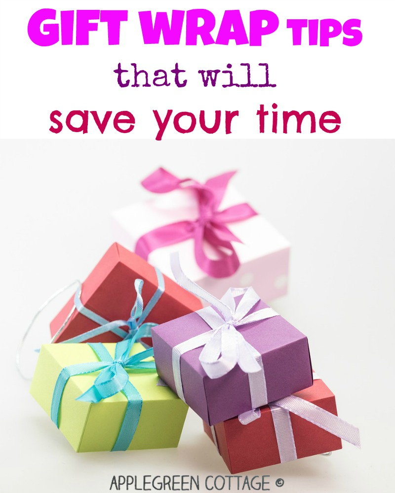 Gift Wrapping Tips that Save Your Time