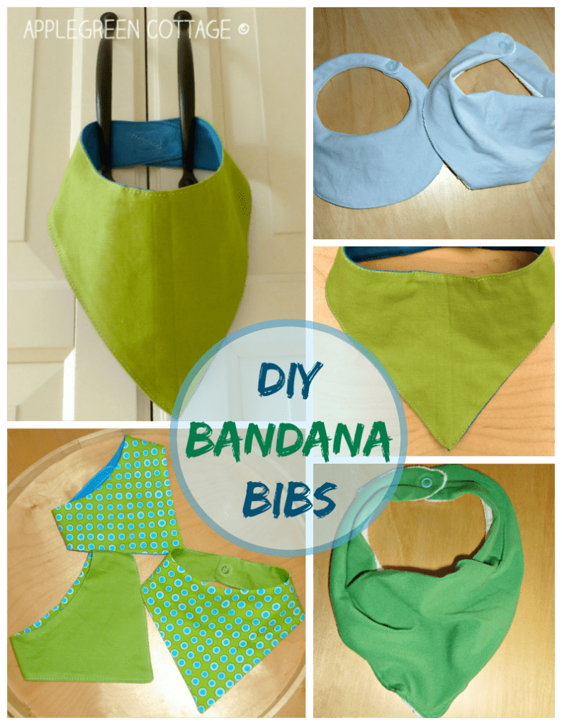 Home-Made Bandana Bibs – And a Promise