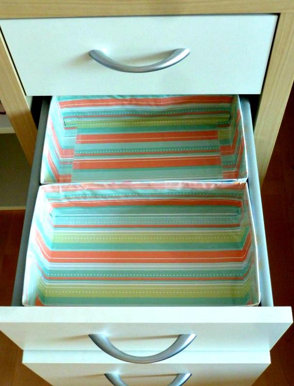 drawer organizer DIY
