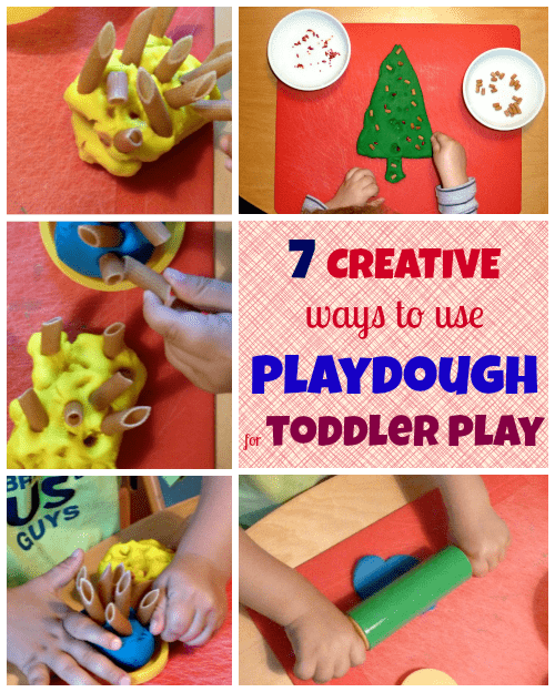 7 Awesome Ways to Use Playdough for Toddler Play