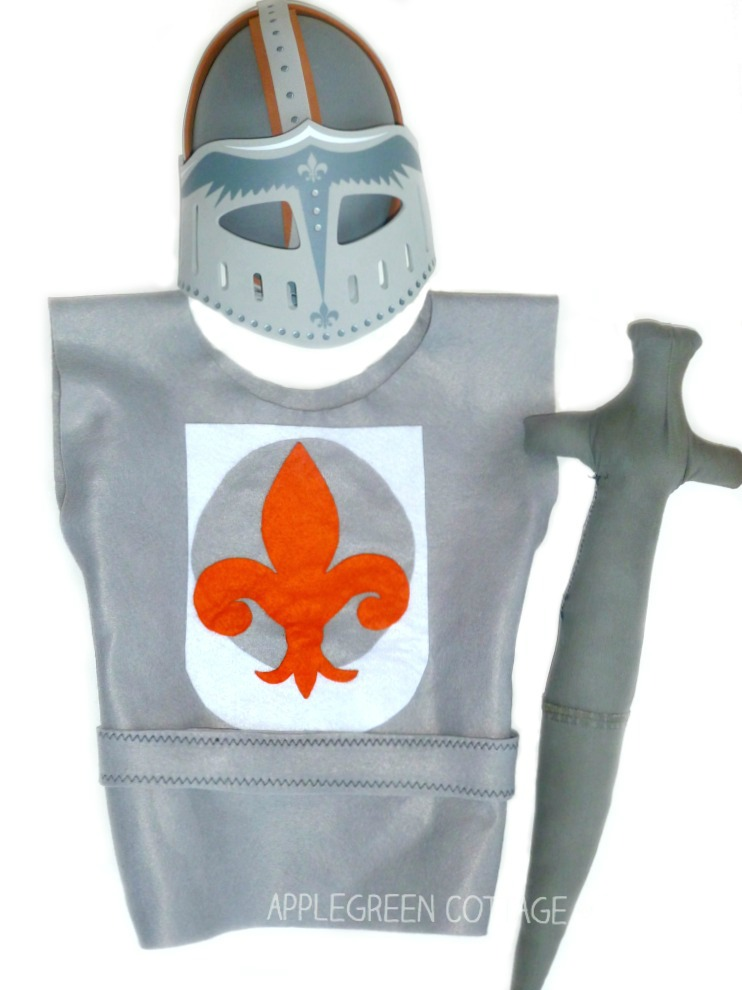 homemade knight costume
