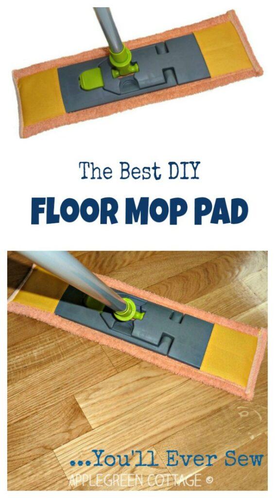 diy mop pad sewing tutorial