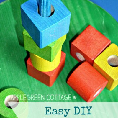 easy diy stacking toy for kids