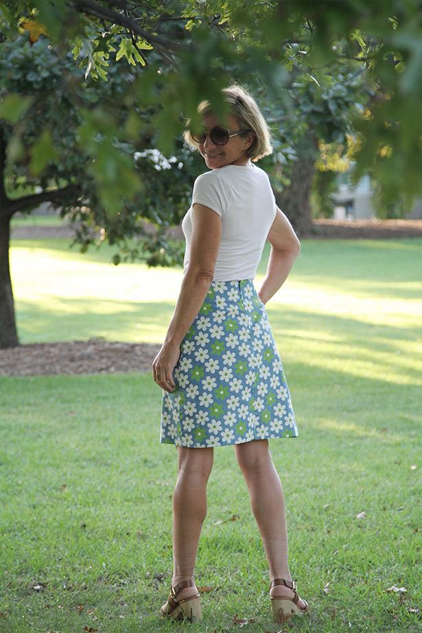 a line skirt pattern free
