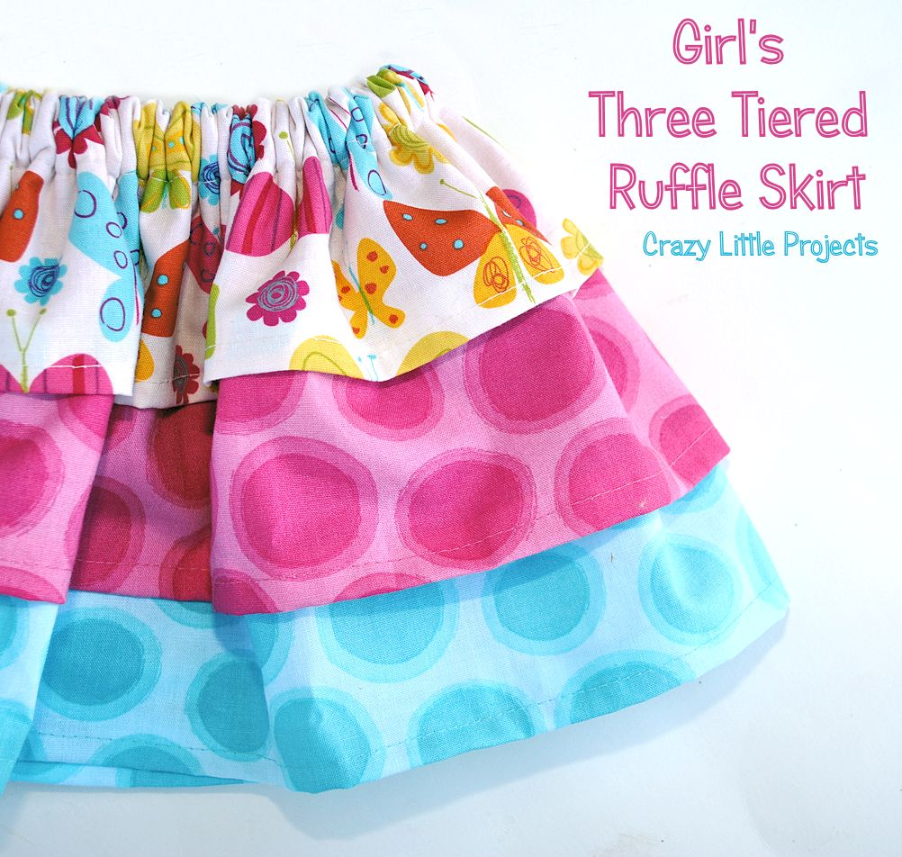 little girls summer skirts tutorials