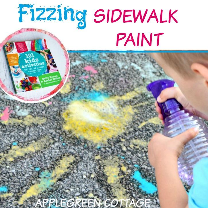 sidewalk paint activity