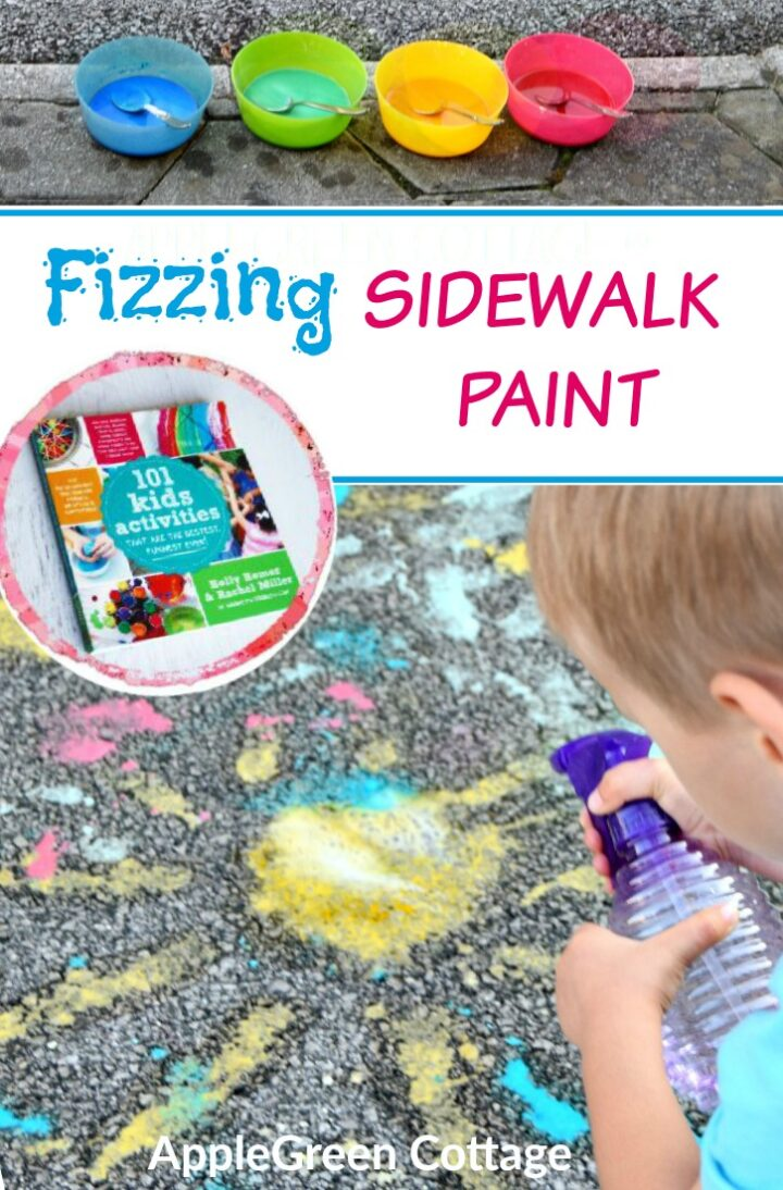 How To Make The Best Fizzing Sidewalk Paint