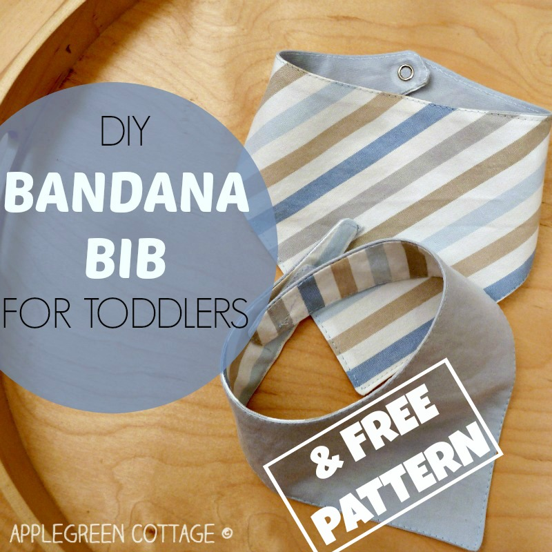 Bandana Bib Pattern Free Legreen Cottage