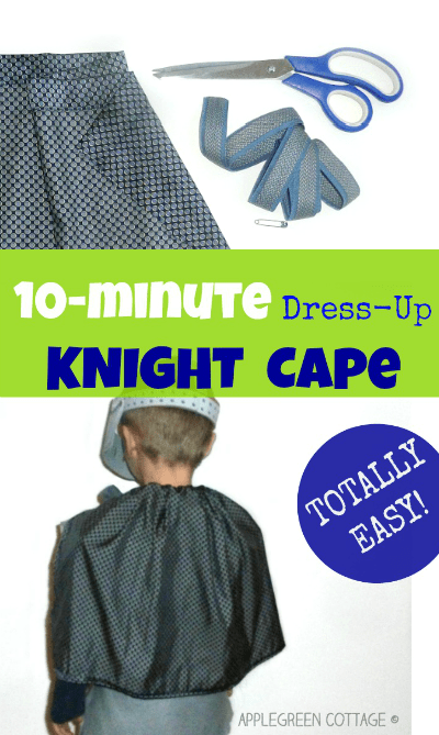 Diy Cape For Halloween – To Make In 10 Minutes!