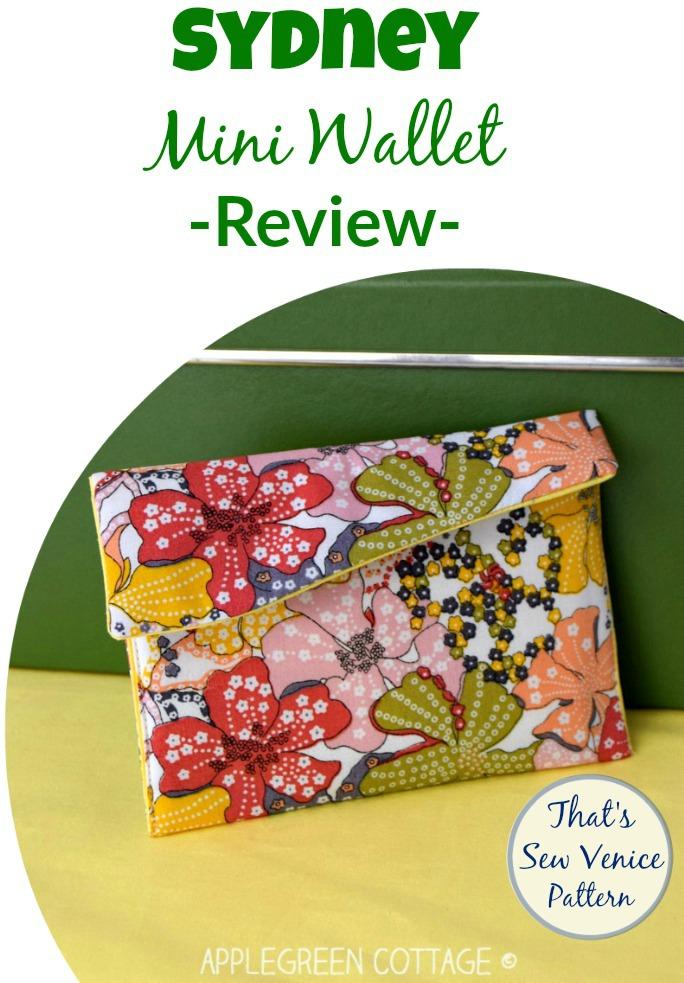 sydney mini wallet pattern review
