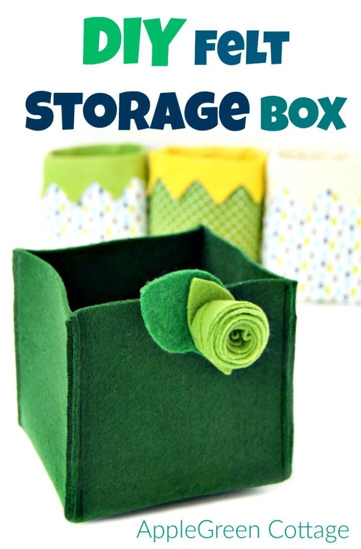 Quick Diy Storage Box - Super Easy!