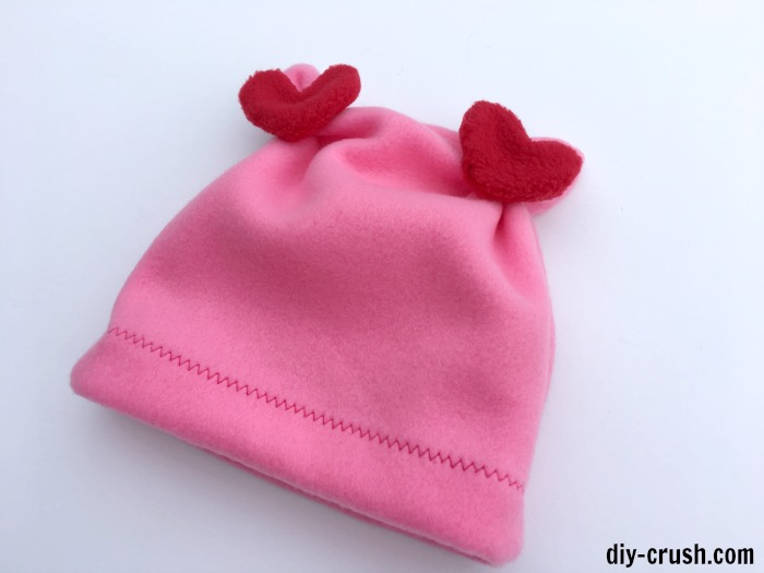 valentine fleece hat