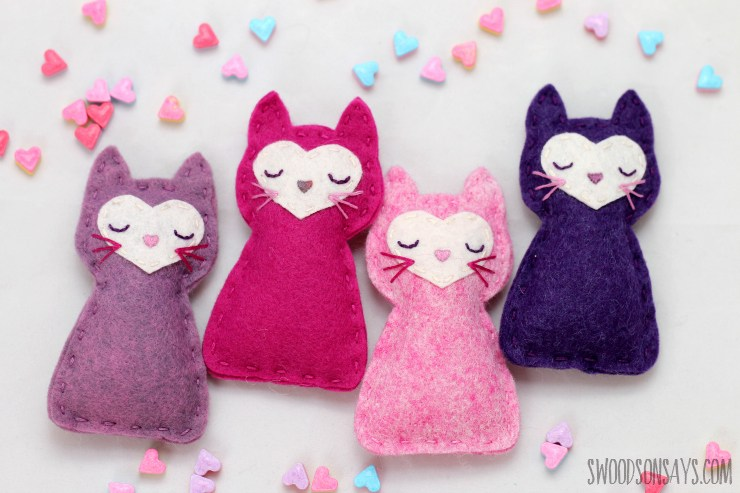 Valentine easy sewing ideas with sewing patterns