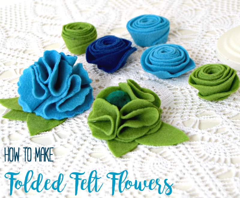 free template for diy felt flowers