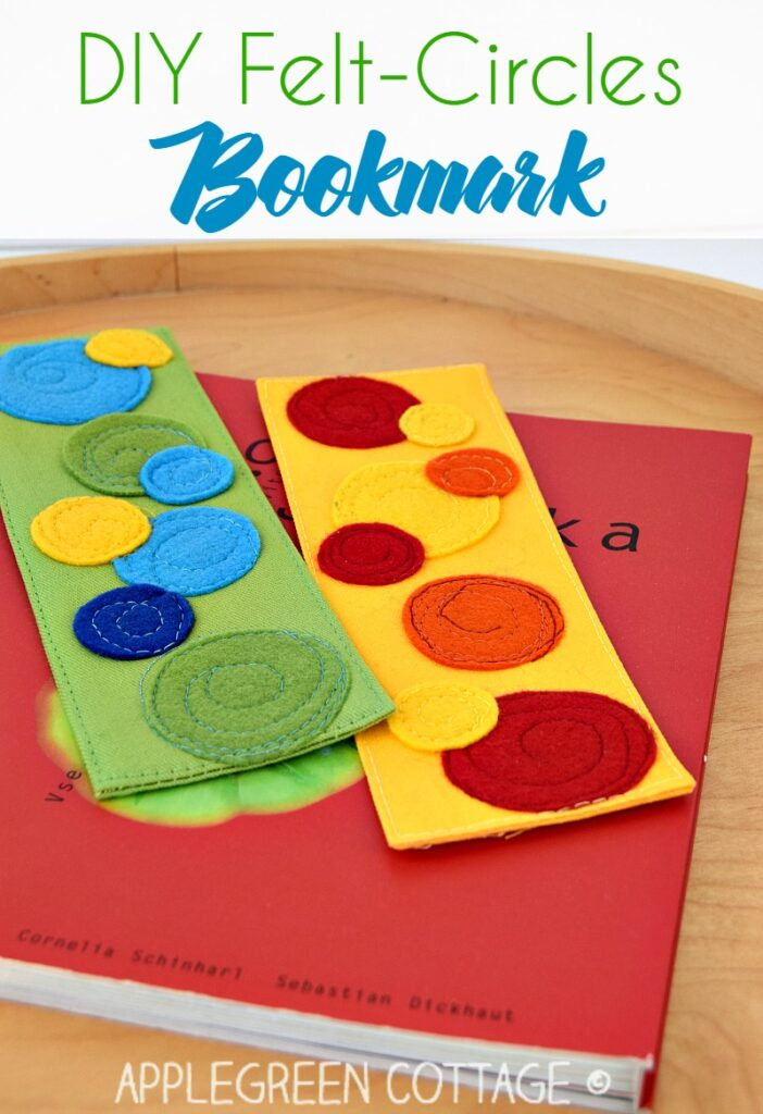 how to sew fabric bookmarks