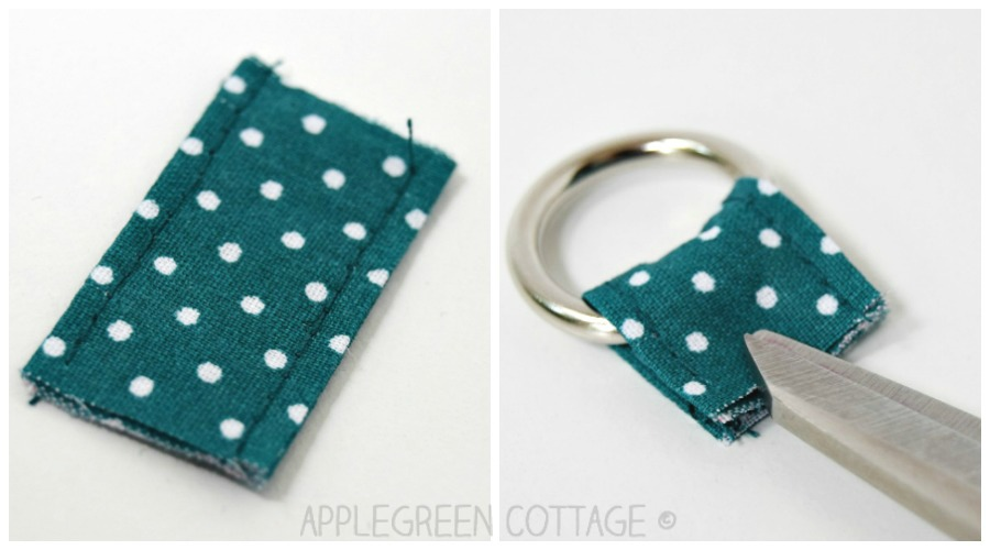 sewing tab for wrist strap