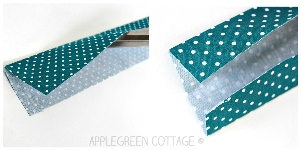 folded fabric for wrist strap