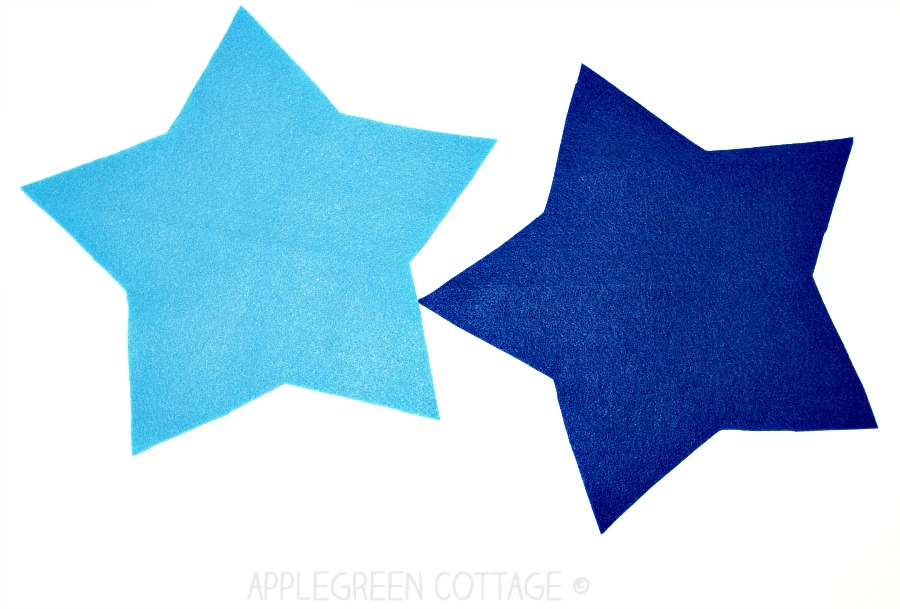 star sewing pieces
